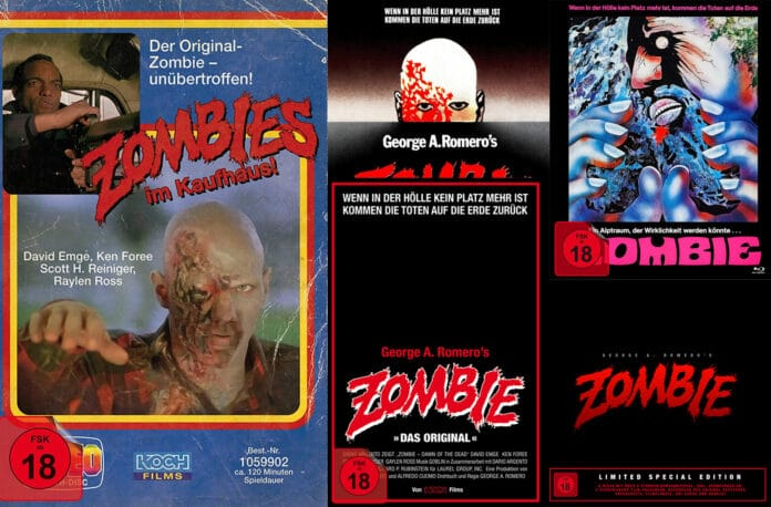 Zombie - Dawn of the Dead Remaster auf 4K Blu-ray