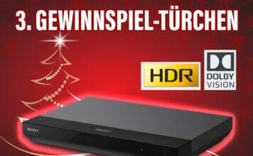 Gewinnt den Sony UBP-X700 4K Player. Das Multitalent mit Dolby Vision und Dolby Atmos
