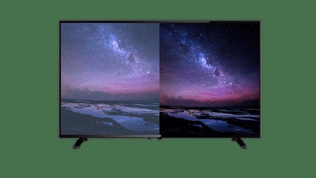 Leider sind TV-Geräte in privaten Haushalten meist falsch eingestellt - zu hell, zu hohe Farbsättigung und übertriebener Kontrast