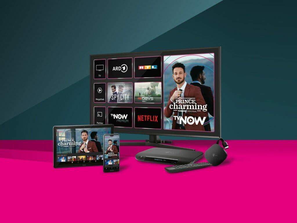 MagentaTV integriert nun auch TVNOW Premium.
