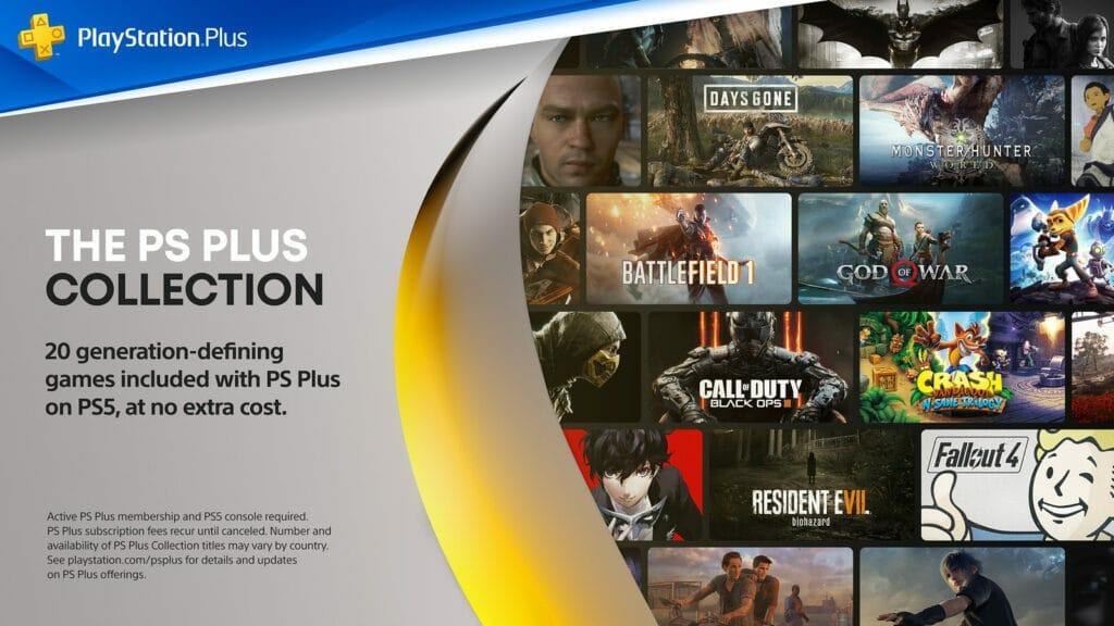 Die PlayStation Plus Collection enthält 20 Spiele.