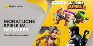 PlayStation Plus bietet euch im Dezember 2020 neue Spiele an.