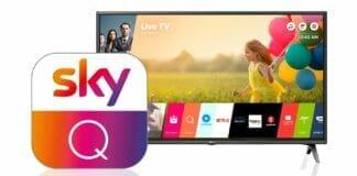 Sky Q gibt es mittlerweile auch als App für viele TVs.