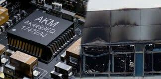 Ein Großfeuer beim Chiphersteller AKM legt die Produktion für mindestens 12 Monate lahm!