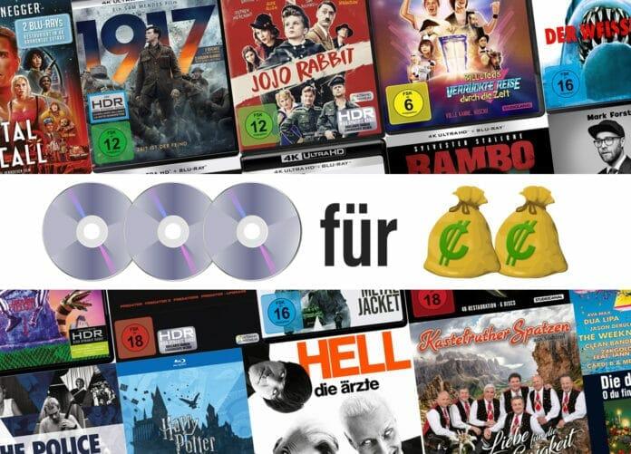Über 35.000 Artikel bis zu 33 Prozent günstiger! Die große Drei für Zwei Aktion auf Amazon.de