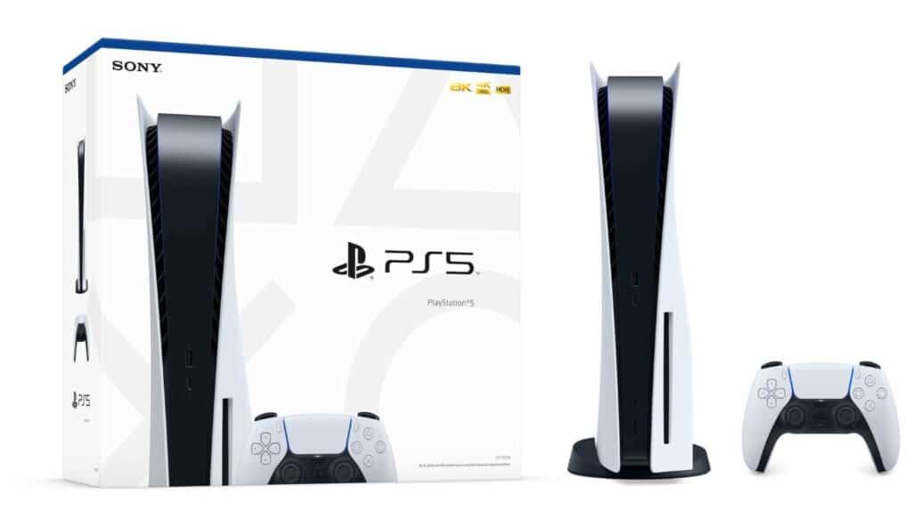 Auf der Verpackung der PlayStation 5 prangert ein 8K-Logo. Diese Auflösung wird ab Werk jedoch nicht unterstützt