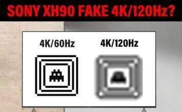 Sony Fake 4K/120Hz beim XH90 mit HDMI 2.1