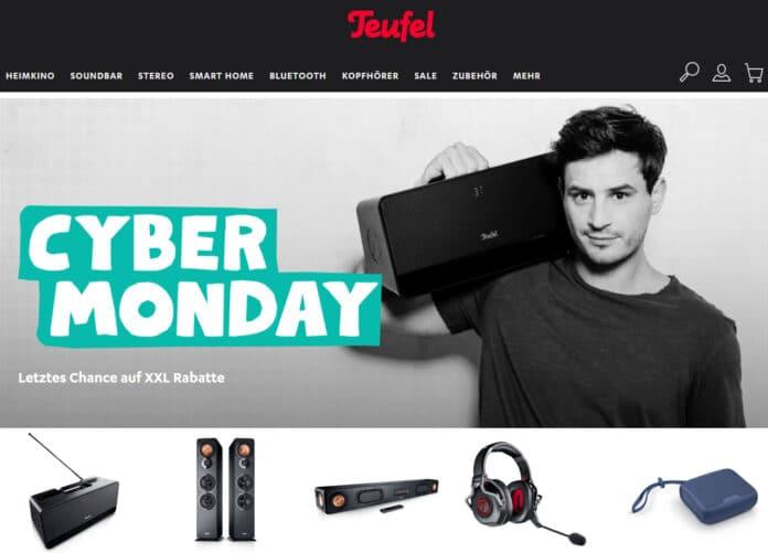 Nur noch heute! Cyber Monday XXL Rabatte bei TEUFEL sichern!
