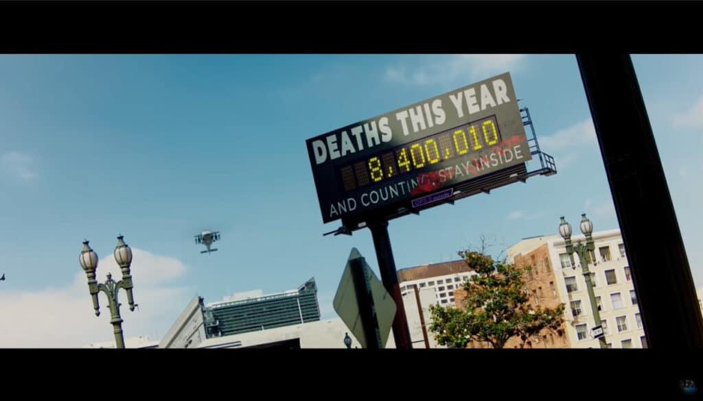 Über 8 Millionen Menschen sind allein im Filmjahr 2024 bereits an Corona gestorben