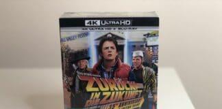 Die Zurück in die Zukunft 4K Blu-ray Trilogie wurde mit defekter Dolby Atmos Tonspur ausgeliefert
