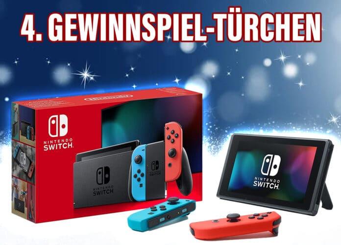 Gewinne eine NINTENDO Switch Konsole (neue Version)!