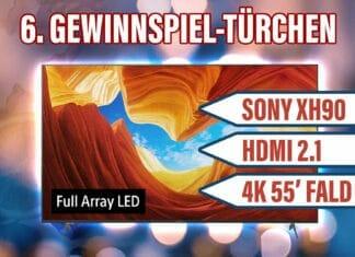 Gewinnspiel Sony 4K Fernseher XH90 mit HDMI 2.1