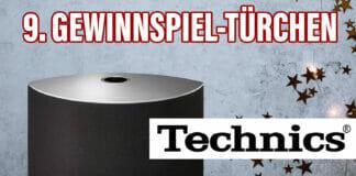 Gewinnspiel Nr. 9: Bester Klang - überall - mit dem Technics OTTAVA S (SC-C30) Wireless Lautsprecher