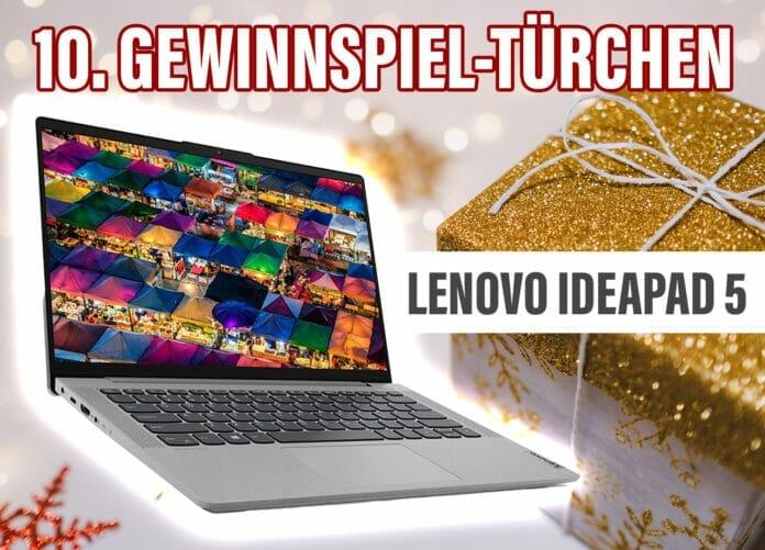 Gewinn Nr. 10: Der Lenovo IdeaPad 5 Laptop mit 14 Zoll Diagonale!