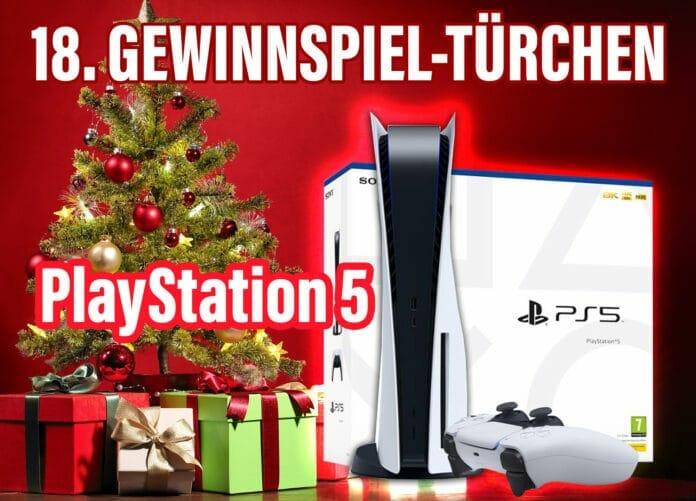 Gewinne mit viel Glück eine PlayStation 5 Konsole von Sony!