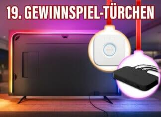 Das Ambilight-Upgrade für euren Fernseher! Philips Hue Komplettset in unserem Adventskalender