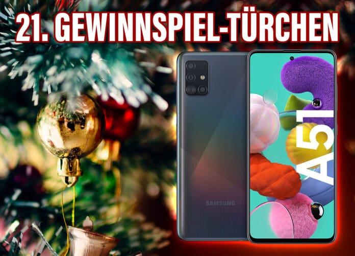 Eines von zwei Samsung Galaxy A51 Smartphones gewinnnen!