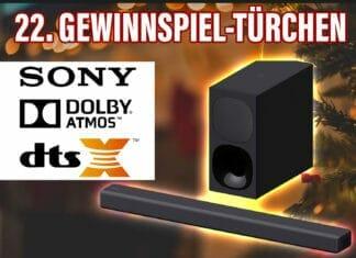 Gewinnspiel: Dolby Atmos 3D Sound mit der Sony Soundbar!