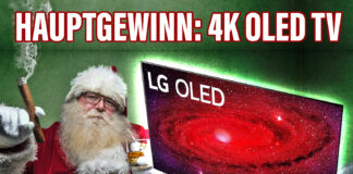 Gewinnspiel LG 4K OLED Fernseher 55 Zoll (55CX)