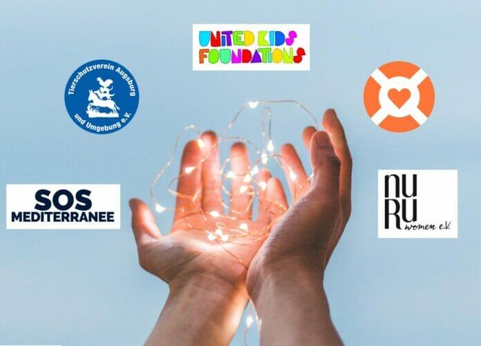 Wir haben mit eurer Hilfe 5.000 Euro an gemeinnützige Organisationen spenden können!