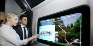 LG hat einen neuen, transparenten OLED-TV vorgestellt