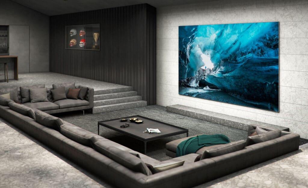 Samsungs MicroLED-TV soll neue Maßstäbe setzen.