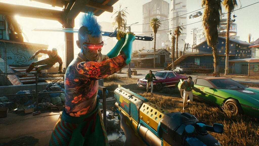Charakter-Crafting, Open-World, Fahrzeuge, Waffen, Modifikationen... Cyberpunk 2077 hat alles