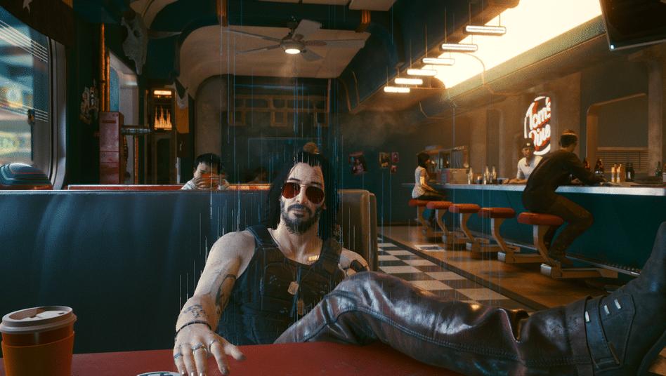 Das Keanu Reeves in Cyberpunk 2077 eine Rolle übernommen hat, erschwert es mir zusätzlich, mich dem Spiel zu enthalten