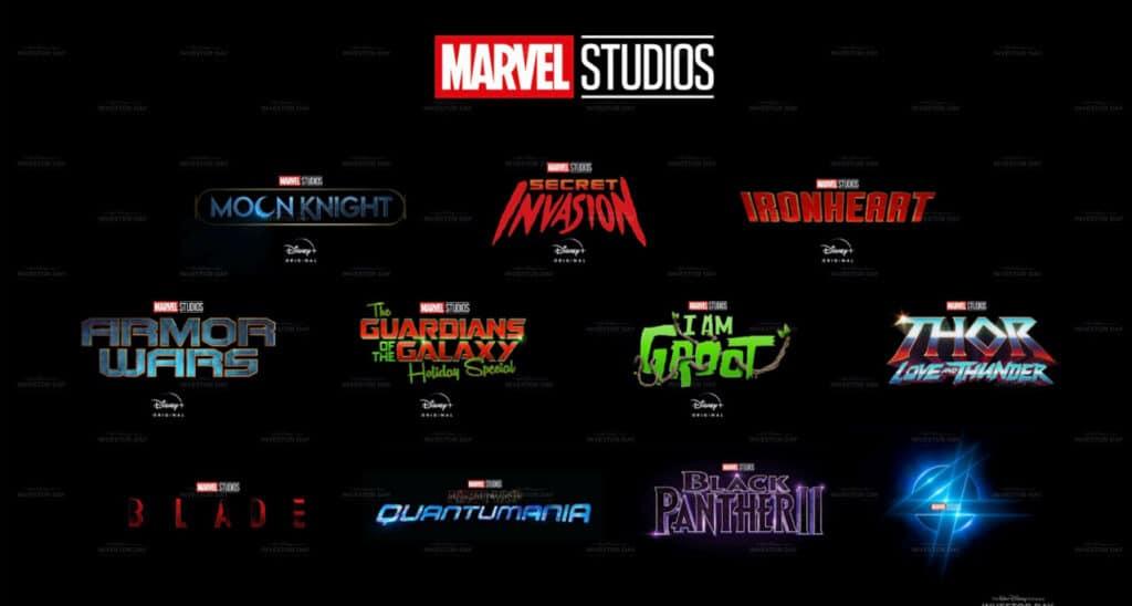 Hier eine kleine Auswahl neuer Filme & Serien aus dem Marvel-Universum