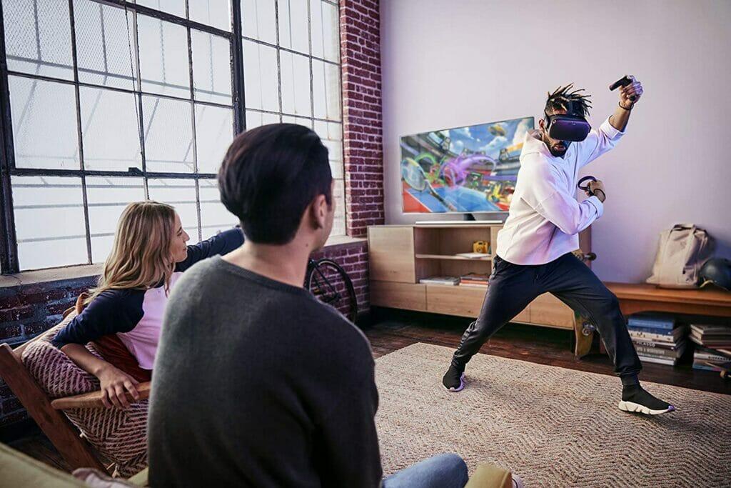 Einfacher kann man nicht in VR-Welten abtauchen - drahtlos und ohne PC - Die Oculus Quest VR-Brille