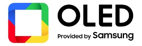 OLED Provided by Samsung Logo