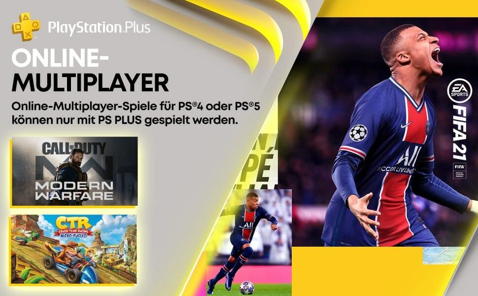 Online Zocken auf der PS4/PS5 geht nur mit einer Plus-Mitgliedschaft