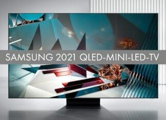 Erste Hinweise zu den Modellcodes der Samsung 2021 QLED-Mini-LED-TVs