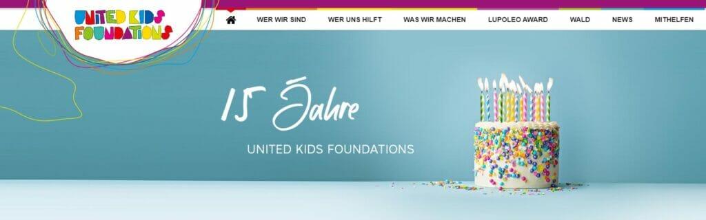 1.000 Euro gingen unter anderem an die United Kids Foundations, die unzählige Projekte für Kinder und Jugendliche unterstützen.