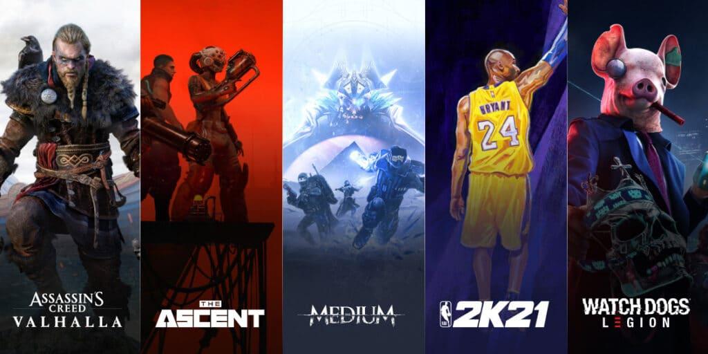 Xbox Series X optimierte Games
