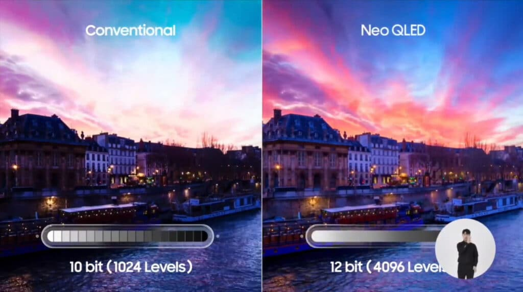 Samsung Neo QLED TVs unterstützen 12-bit Verarbeitung mit 4.096 Helligkeitsabstufungen