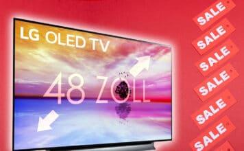 War noch nie günstiger - Der 48 Zoll LG 4K OLED TV für nur 1.299 Euro!