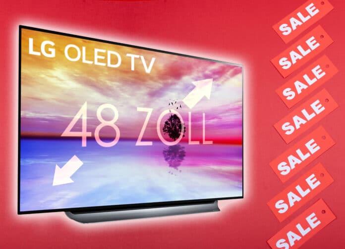 War noch nie günstiger - Der 48 Zoll LG 4K OLED TV für nur 1.249 Euro!