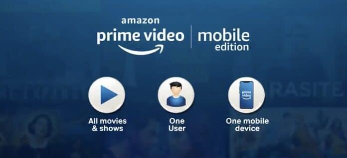Amazon Prime Video lässt sich in Indien auch als rein mobile Variante buchen.