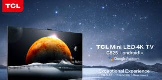 TCL C825 Mini LED 4K QLED TV mit Google TV