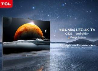 TCL C825 Mini LED 4K QLED TV mit Google TV
