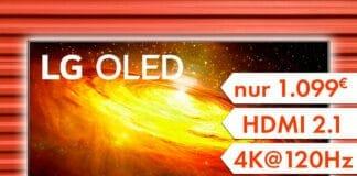 MediaMarkt und Saturn reduzierten den 55 Zoll BX 4K OLED TV auf 1.099 Euro!