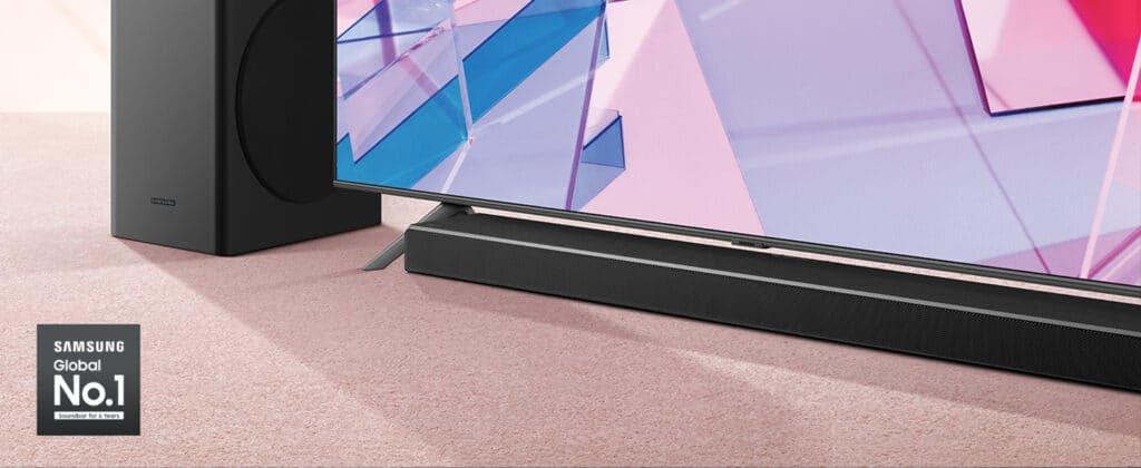 Der Einstieg in die Q-Soundbar Welt (Abgebildet HW-Q60T)