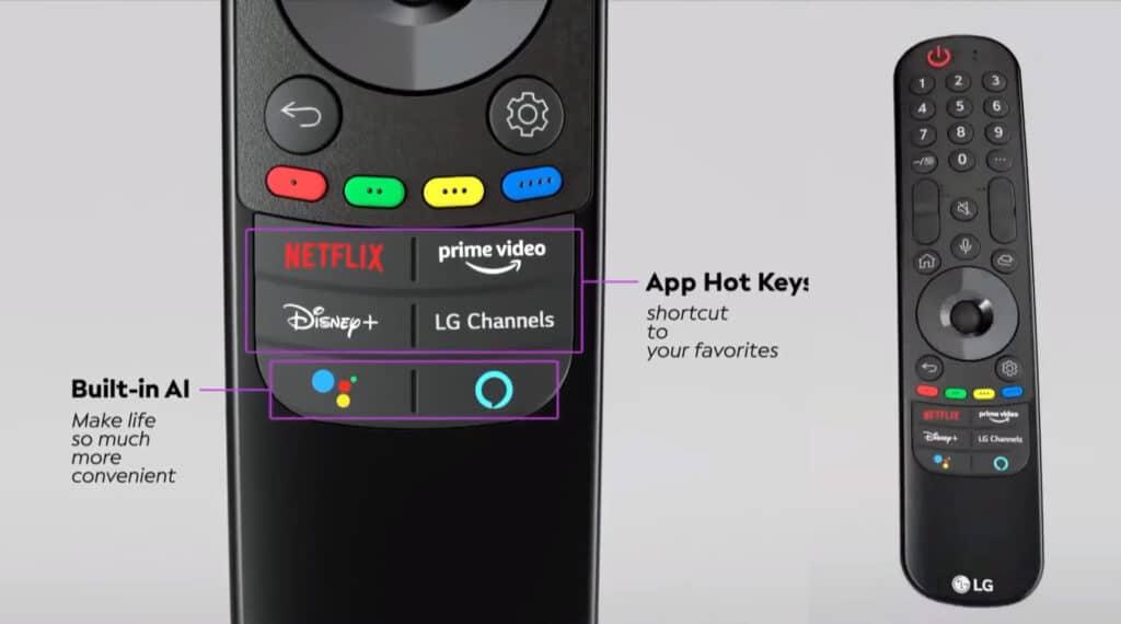 Die neue LG Magic Remote 2021