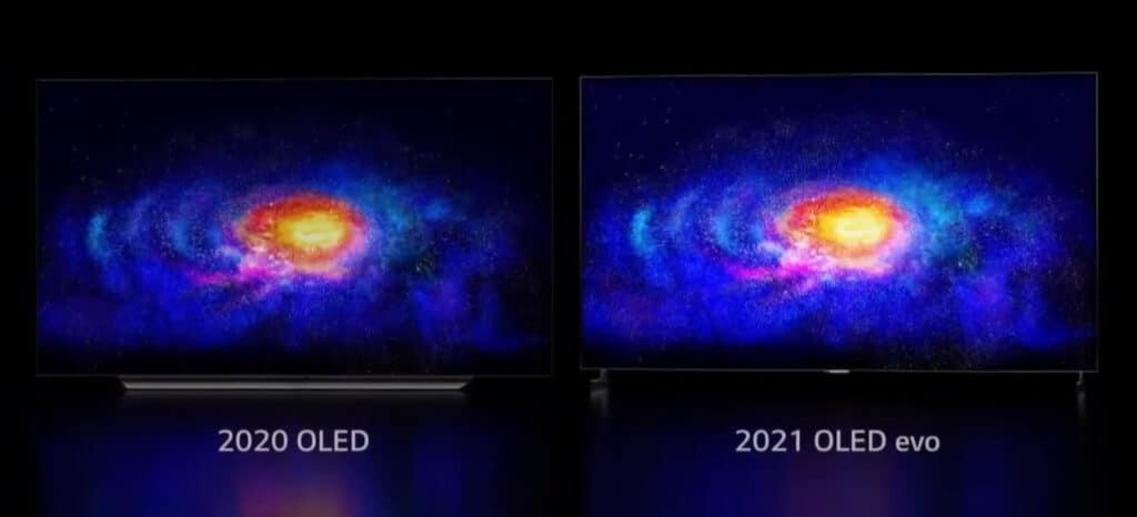 Das neue LG OLED evo-Display wird vorerst nur im G1-Modell zum Einsatz kommen