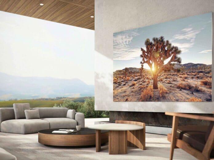 Samsung MicroLED TVs sollen 2021 wirklich in den Handel gelangen!