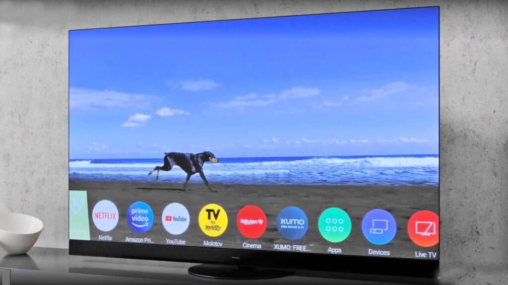 My Home Screen 6.0 auf dem JZW2004 4K OLED TV