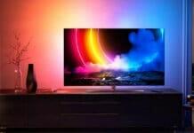Der Philips OLED856 4K OLED TV mit HDMI 2.1 und Anti-Burn-In-Technologie