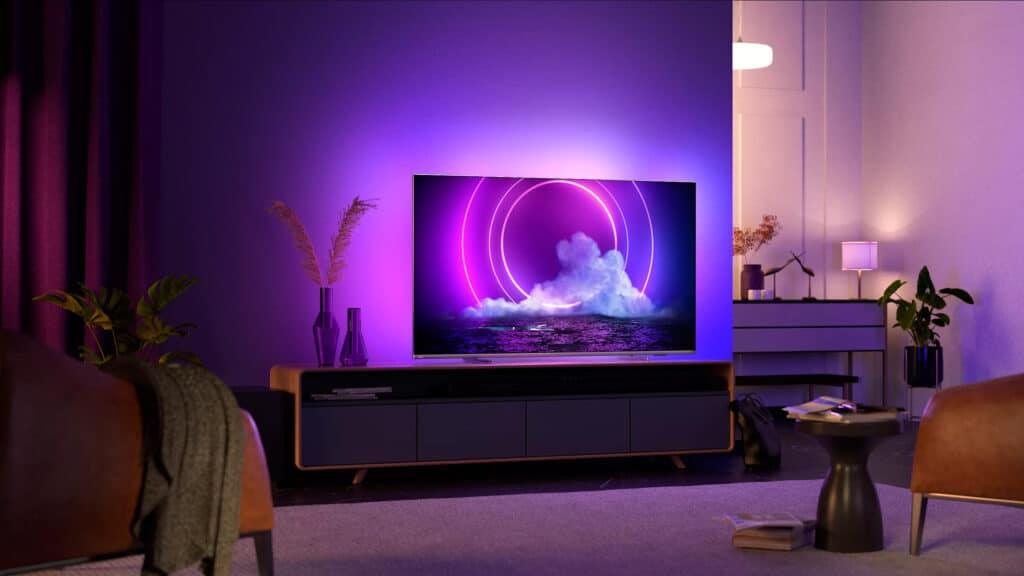 Philips 4K LCD-Modellreihe PUS9206 mit 4-seitigem Ambilight und HDMI 2.1