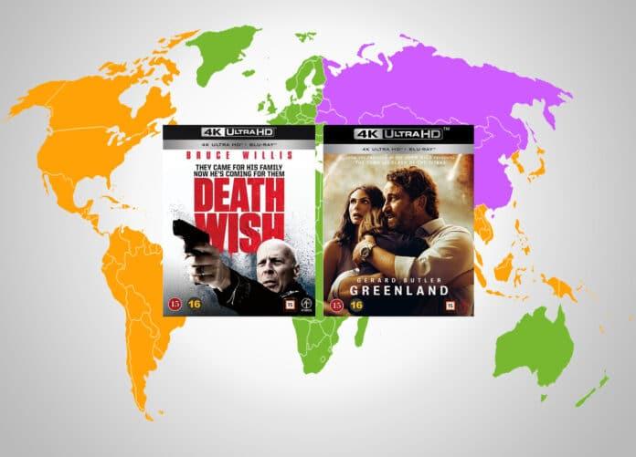 Es sind erste 4K Blu-rays mit Regionalcodes aufgetaucht - obwohl nicht in den Spezifikationen der BDA vorgesehen